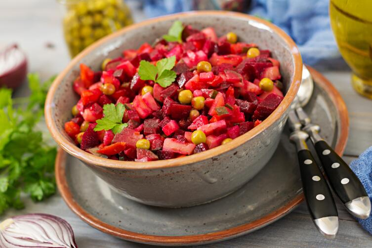 Винегрет - всеми любимое, народное блюдо