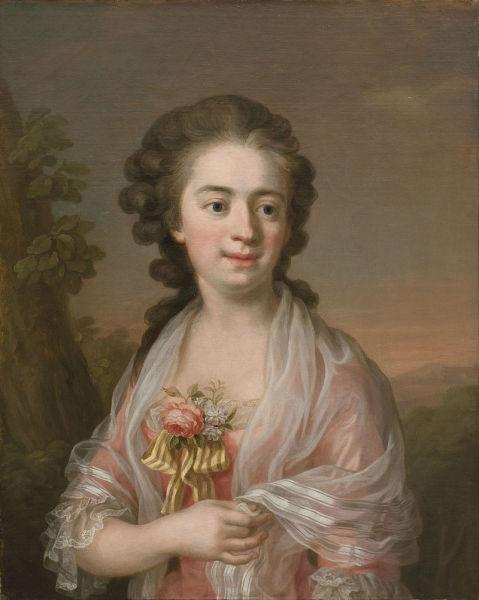 УльрикаАвтопортрет. Около 1770 г.