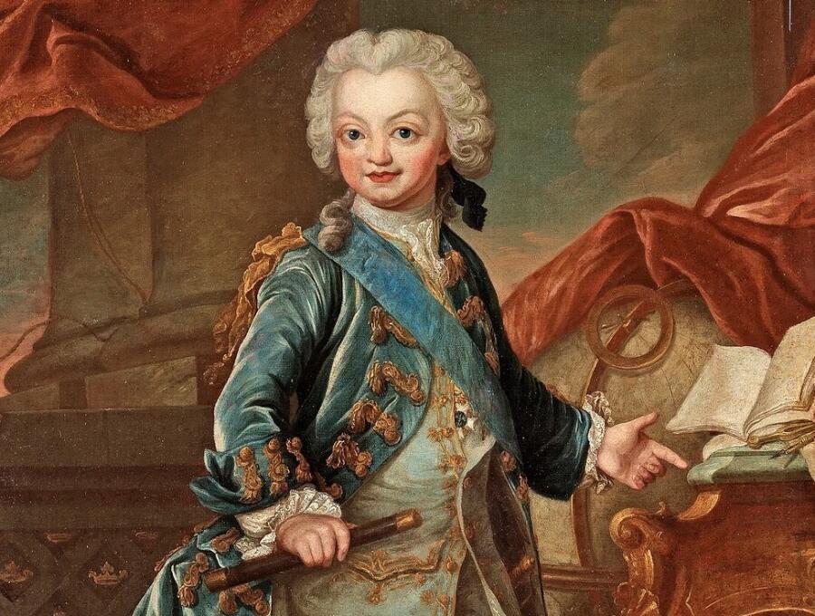 Ульрика Паш, «Детский портрет короля Швеции Густава III» (фрагмент)