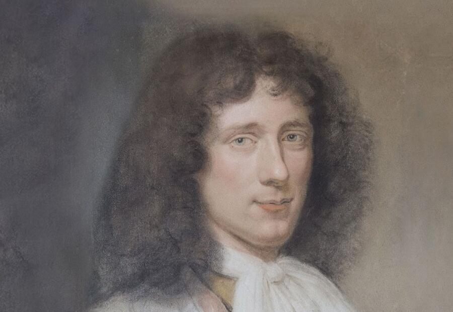 Бернард Вайлант, «Портрет Христиана Гюйгенса» (фрагмент), 1686 г.