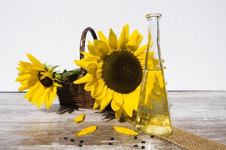 Подсолнечное масло содержит много Омега-6 кислот