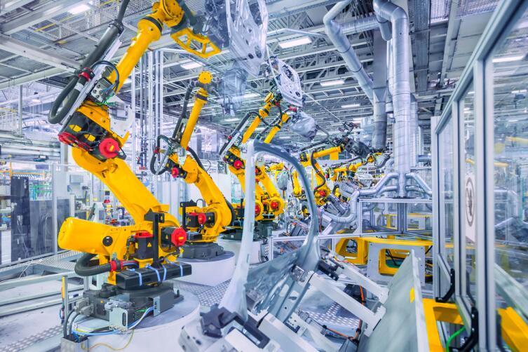 Роботизированное производство автомобилей