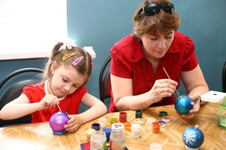 Мастер-класс по изготовлению елочной игрушки в музее