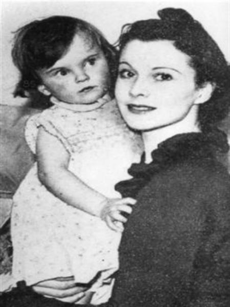 Вивьен с дочерью Сюзанной, 1935 г.