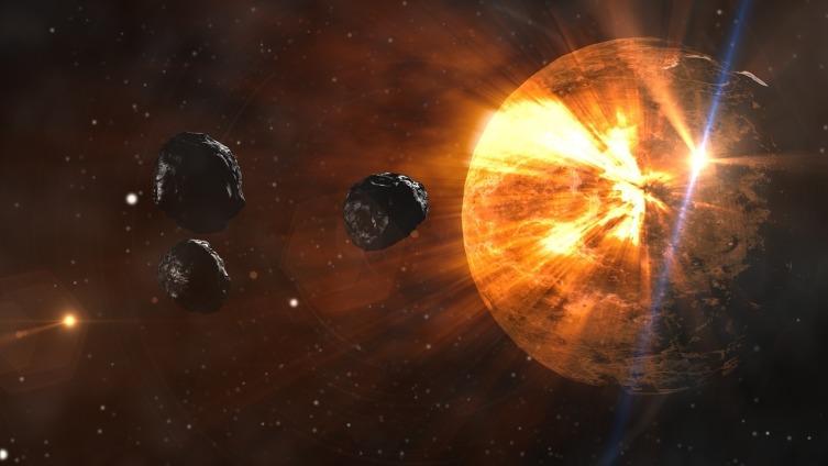 Если же врежется в сушу, то пыль на многие годы перекроет доступ солнечного света на планету