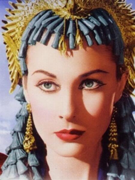 Вивьен Ли в образе Клеопатры