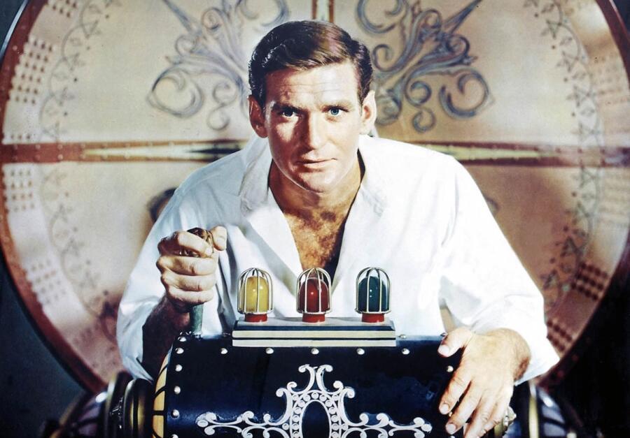 Кадр из фильма «Машина времени», 1960 г.