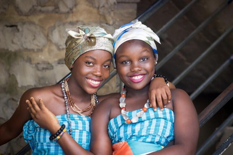 Подготовьте африканские украшения для гостей