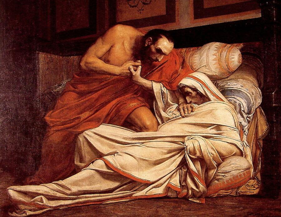 Жан-Поль Лоран, «Смерть Тиберия»