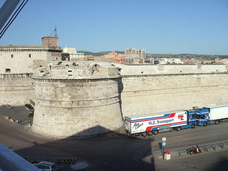 Форт Микеланджело в Чивитавеккье