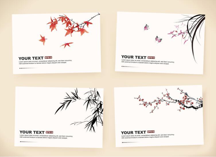 Подготовьте открытки с японской тематикой и подпишите для каждого гостя