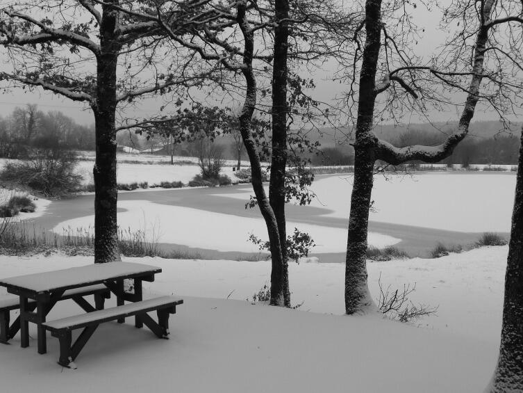 Пикник с горячим чаем - отличное времяпровождение зимой