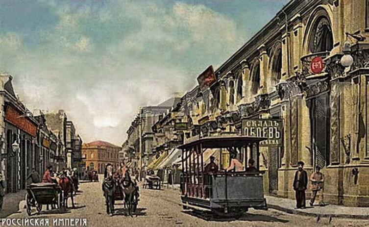 Баку был городом богатым и почти европейским