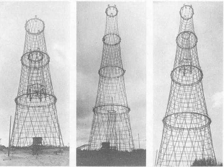 Так строили Шаболовскую башню