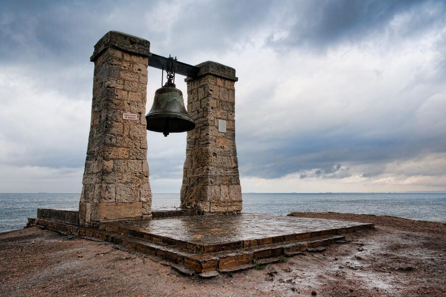 Колокол в Херсонесе, Крым