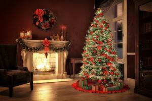 Как сделать новогоднюю елку со вкусом лета?