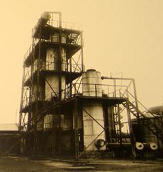 Установка В. Г. Шухова для термического крекинга нефти, 1931 г.