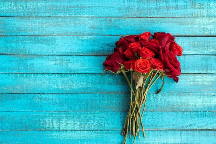 Оказывается, даже привычные всем алые розы вывели лишь в 30-х годах прошлого века