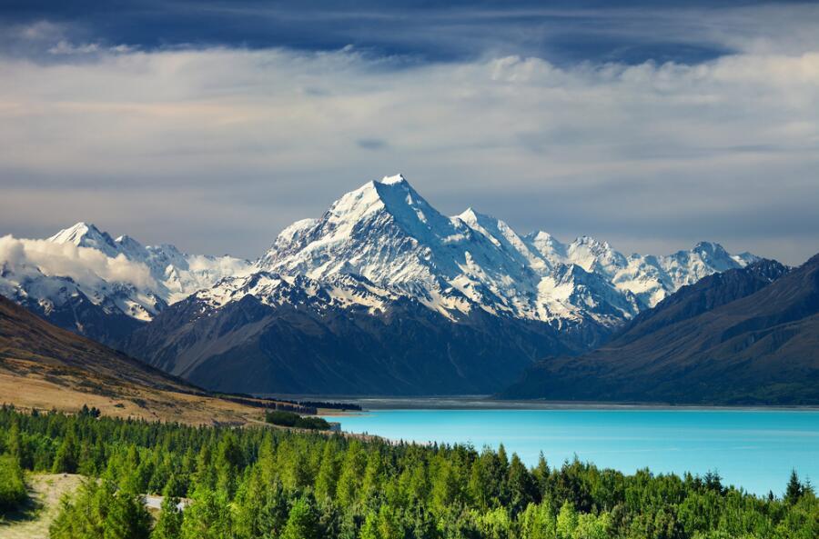 Гора Кука в Новой Зеландии