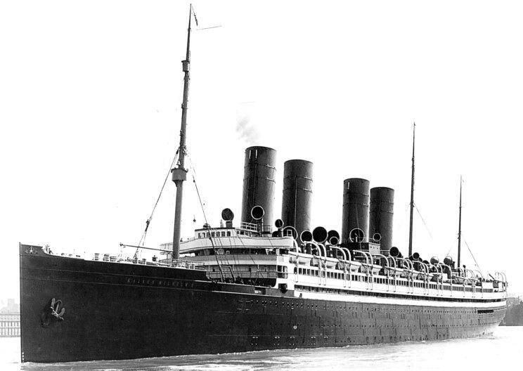 Немецкий лайнер «Кайзер Вильгельм II» был обыскан вдоль и поперек