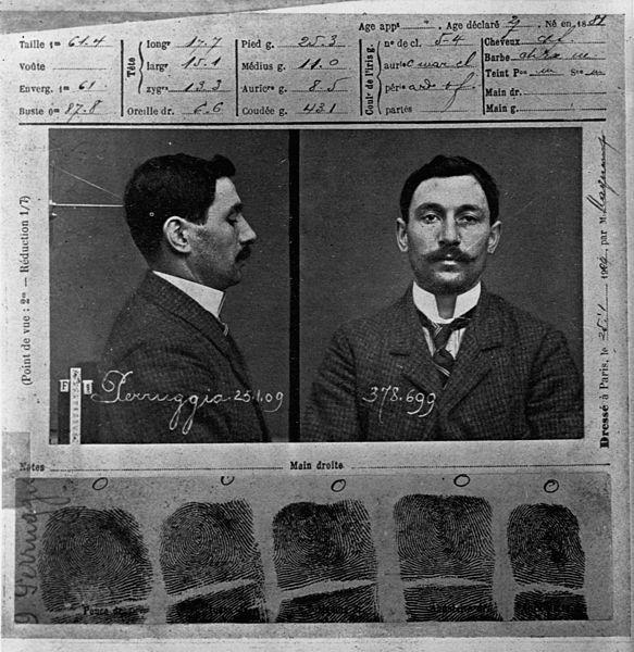 Винченцо Перуджиа, 21 августа 1911 г. похитивший Мону Лизу из Лувра