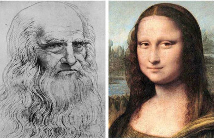 Автопортрет Леонардо да Винчи и его