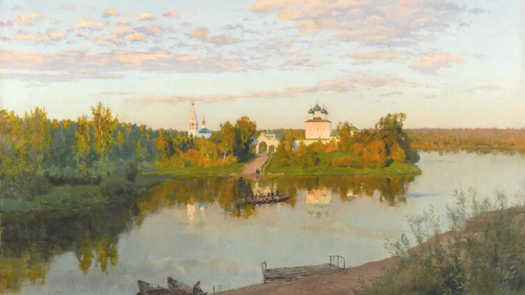 И. Левитан, «Вечерний звон», 1892 г.