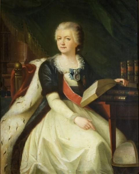 Парадный портрет Е. Дашковой