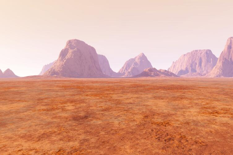 На Марсе нет защиты от солнечного облучения