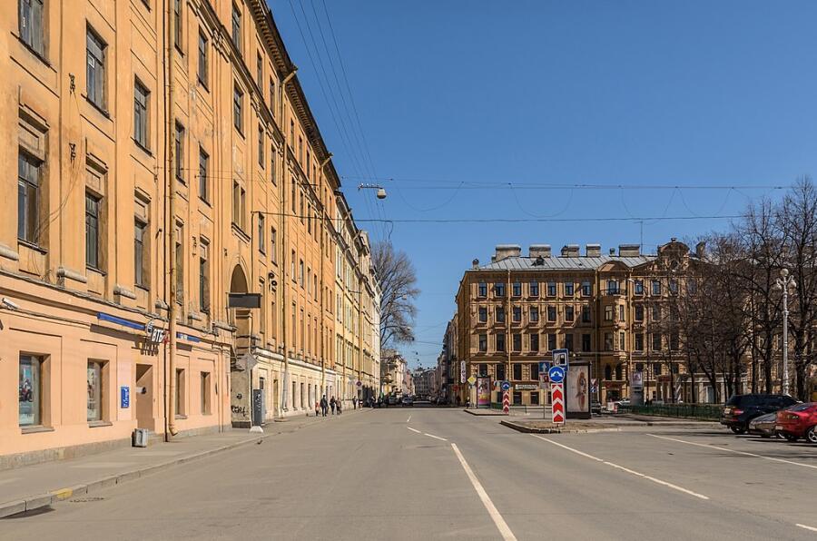 Улица Декабристов в Санкт-Петербурге