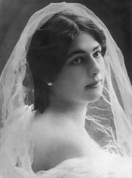 Маргарета Зелле. Фотография 1895 г.