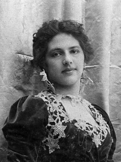 Маргарета МакЛеод-Зелле. Фотография 1900 г.