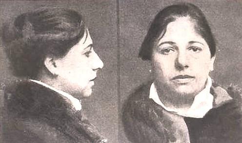 Тюремные фотографии Маты Хари перед казнью