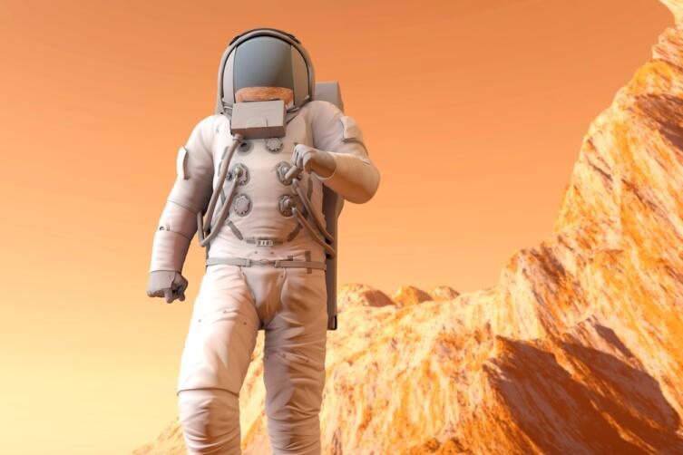 Можно ли представить разгуливающих по Марсу животных?