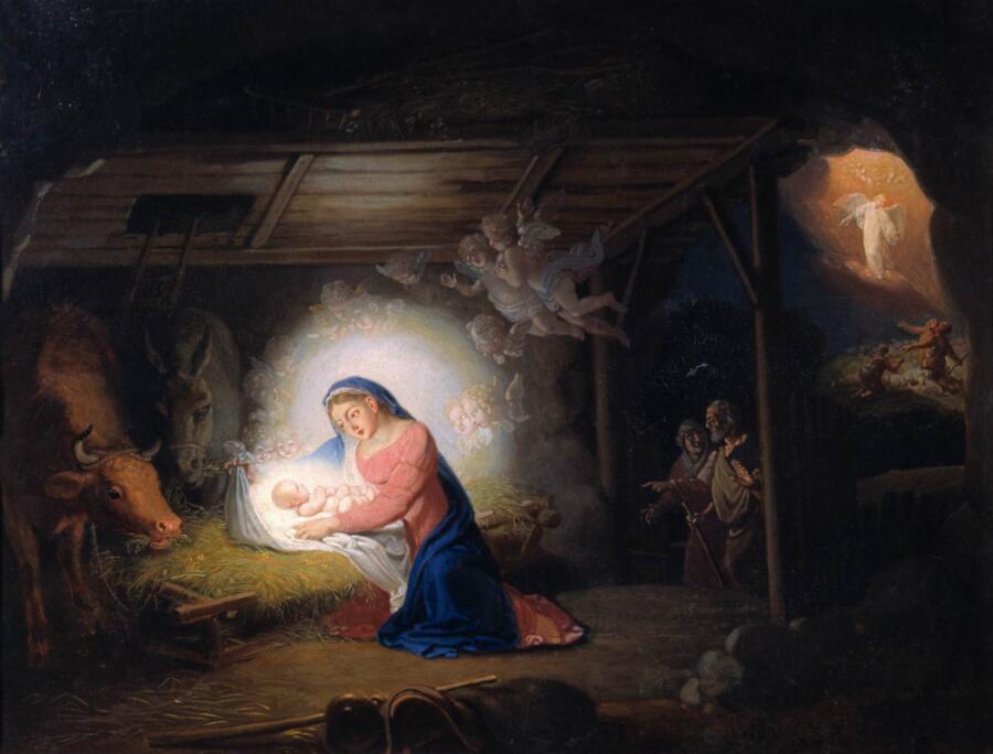 В. Л. Боровиковский, «Рождество Христово»