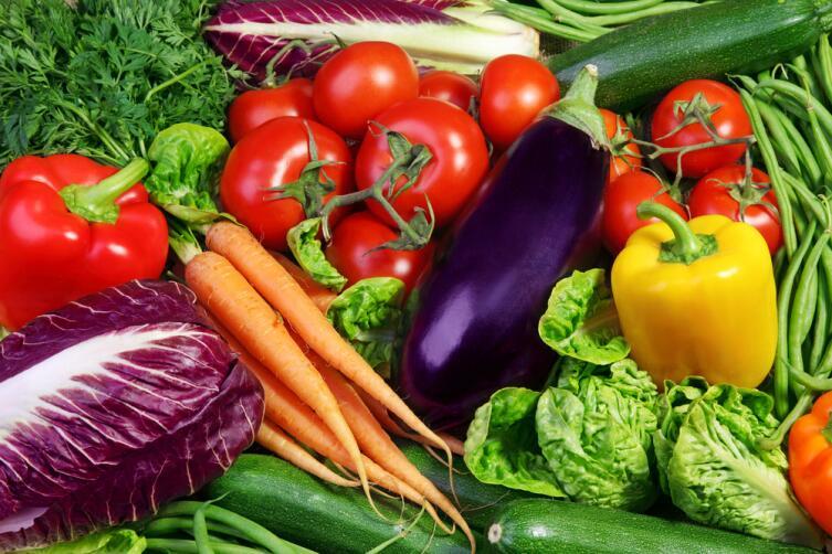Овощи могут быть любые, но сырые