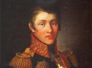 Аркадий Александрович Суворов. Неизвестный художник, 1809 г.