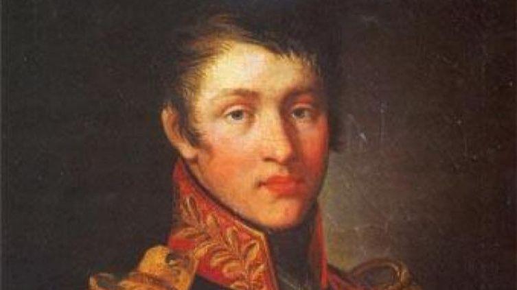 Неизвестный художник, «Суворов А. А.» (фрагмент), 1809 г.