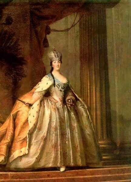Торелли Стефано, «Портрет императрицы Екатерины II»