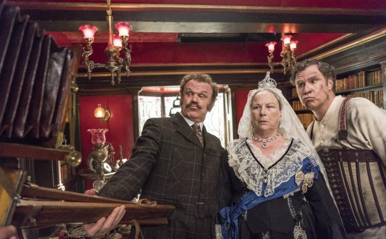 Кадр из фильма «Холмс & Ватсон»