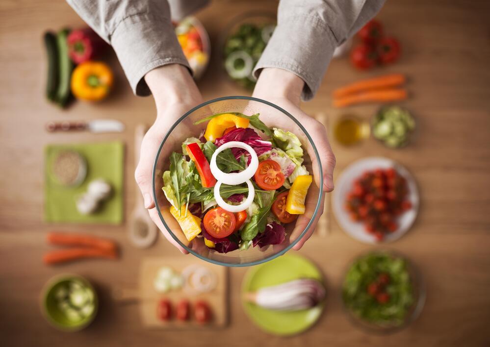Компромисс между вегетарианством и мясоедством все больше входит в моду: Еда: Из жизни