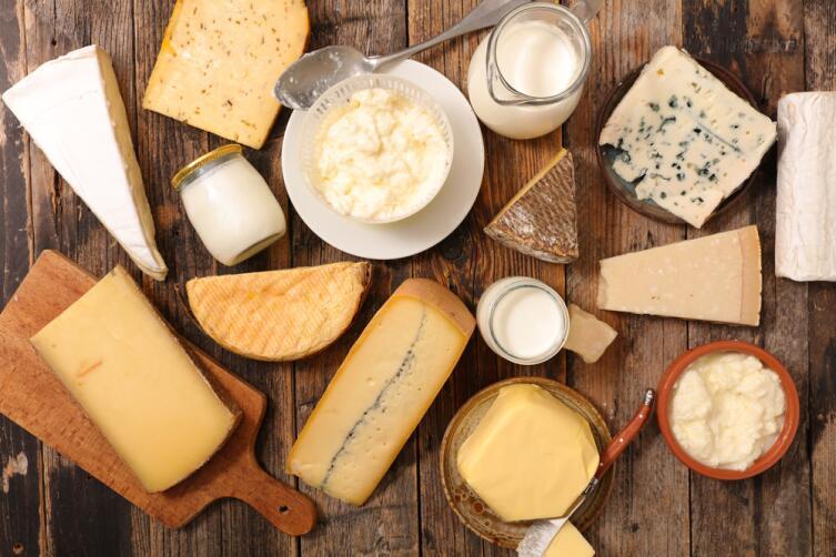 Лактовегетарианцы допускают молочные продукты