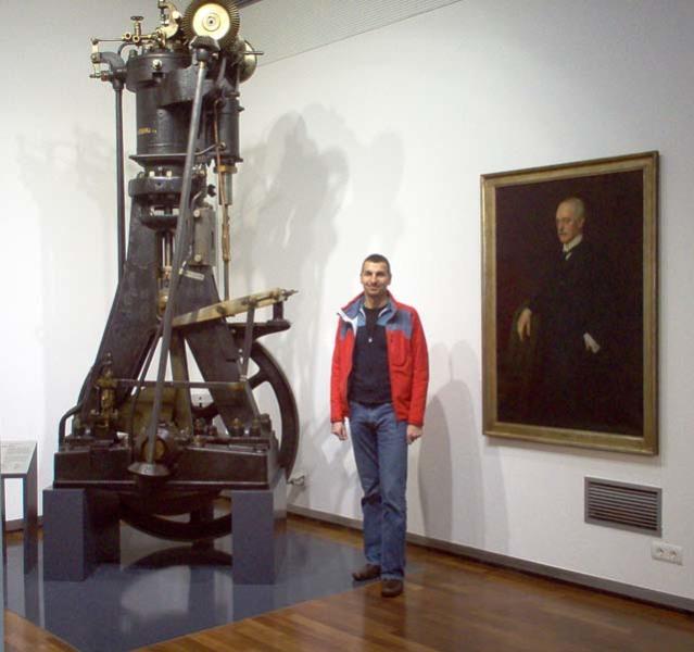 Первый дизель в музее германского концерна M.A.N.