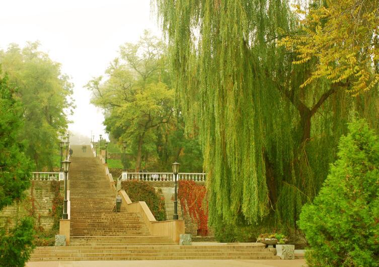 Старинная лестница в Таганроге