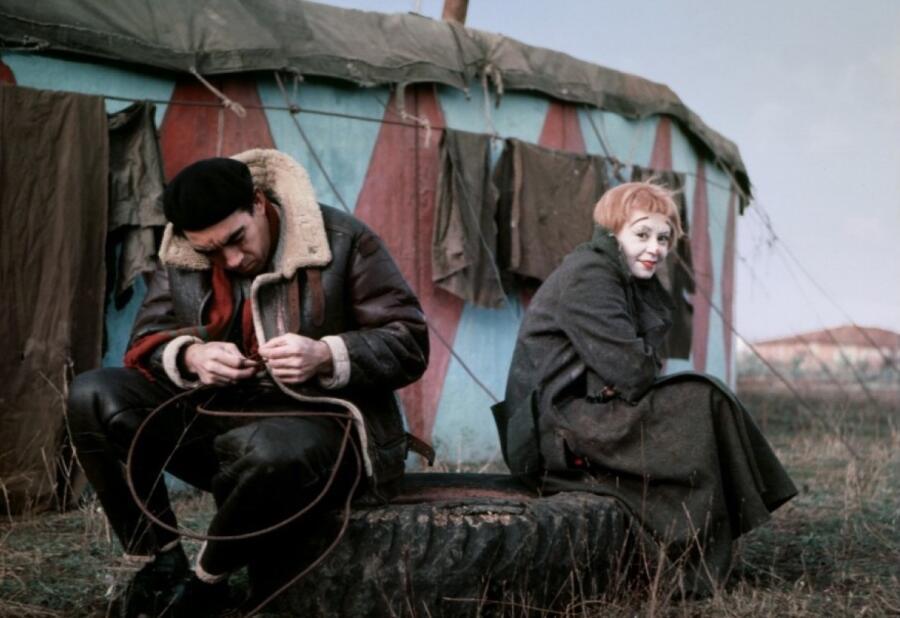 Кадр из фильма «Дорога»