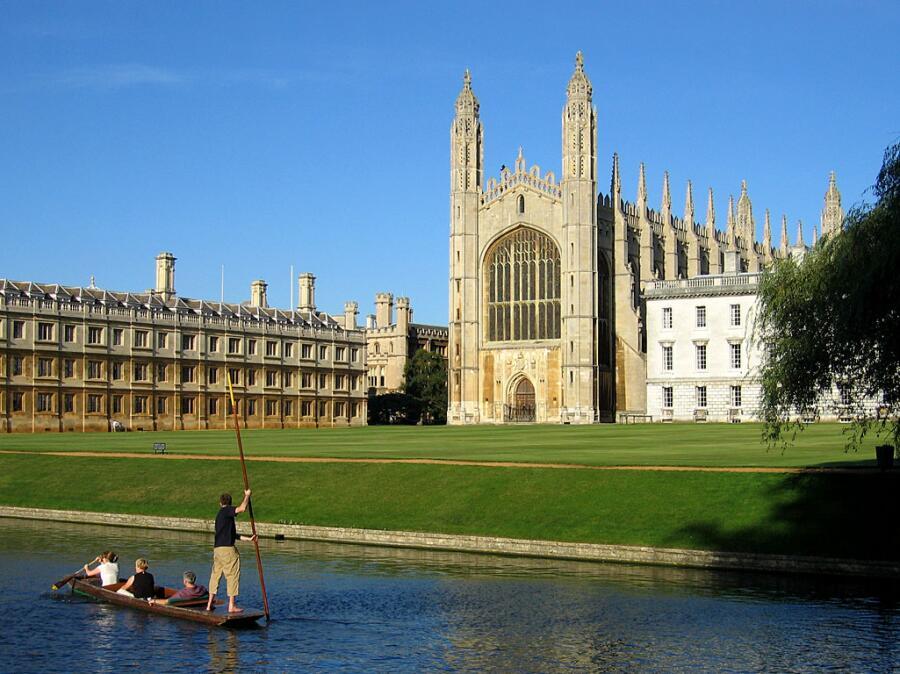 Кембриджский университет, 2004 г.