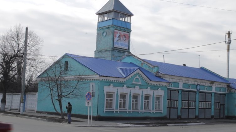 Старинная застройка в Боброве