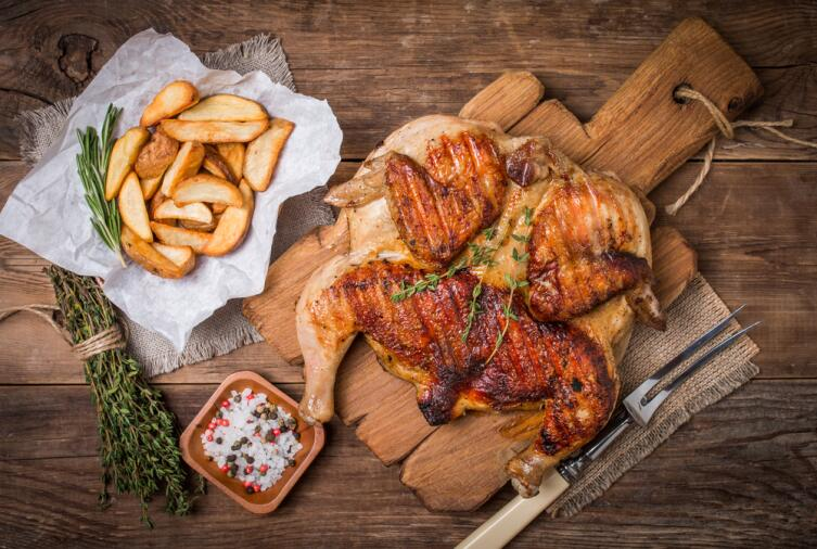 Цыпленок табака. Как приготовить?