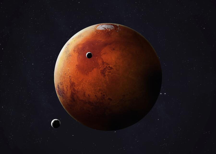 Когда человек сможет поселиться на Марсе?