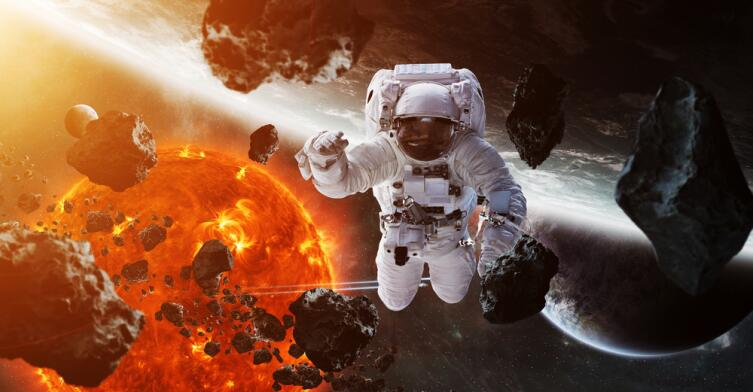 Даже при минимальной солнечной активности космонавты схватят дозу радиации, близкую к предельно допустимой для человека